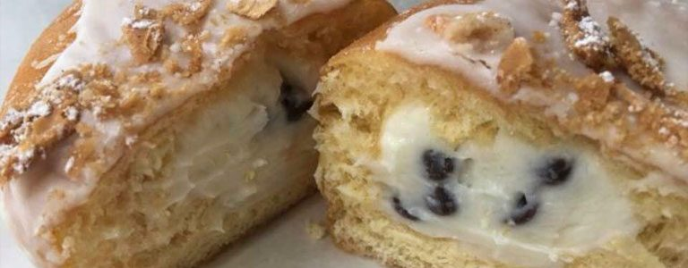 Cannoli, Michigan's Best Donuts, Craft Donuts, Sugarr Donuts