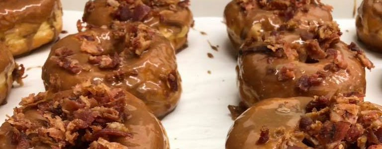 Maple Bacon, Michigan's Best Donuts, Craft Donuts, Sugarr Donuts